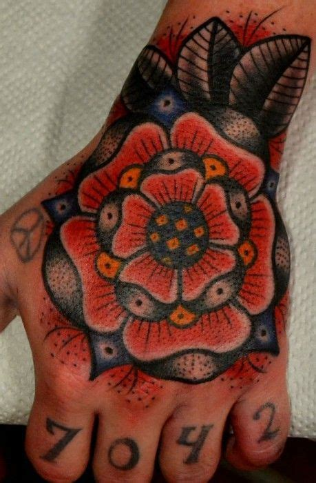 poppy and rose tattoo poppy flower traditional traditional