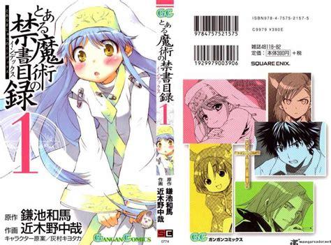 A Certain Magical Index Vol 1 Komik to aru majutsu no index 1 read to aru majutsu no index 1 page 1