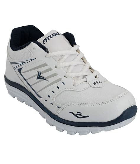 white sports shoes fitcolus white sports shoes price in india buy fitcolus