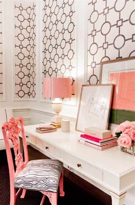 pink  cute office design  girl
