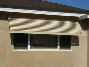 Retractable Metal Awnings Aluminum Awnings Superior Awning