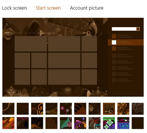pattern maker win8 introducing windows 8 customize the look of the start