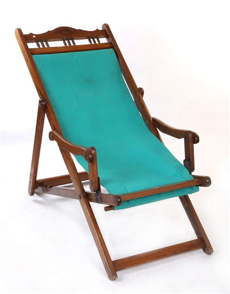 Canvas Deck Chairs - teak canvas deck chair back in those days