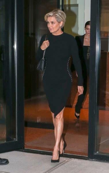 yolanda foster black dress yolanda foster form fitting dress fashion lookbook