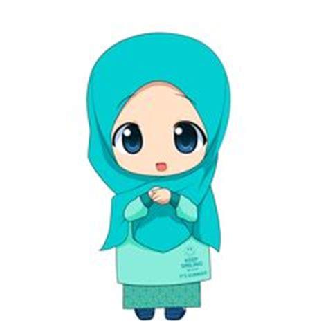 wallpaper anak soleh gambar kartun muslimah cantik berhijab animasi bergerak