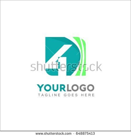 wave pattern of organization abstract vector logo design template creative stock vector