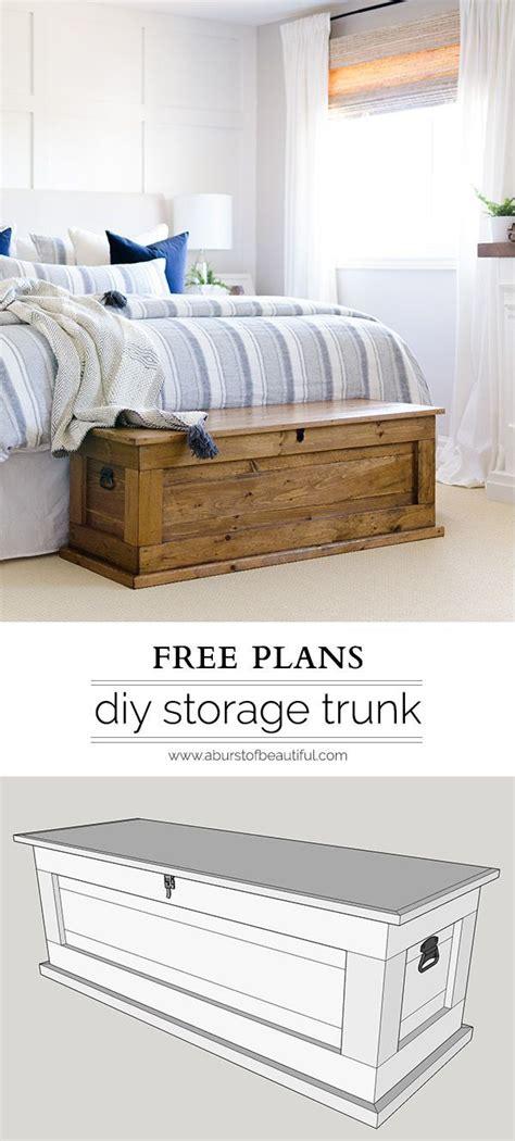 diy blanket storage chest diy furniture projects diy