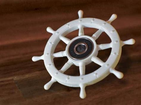 boat steering wheel fidget spinner pirate ships wheel fidget spinner 3d printed fidget