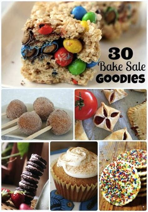 15 easy bake sale recipes