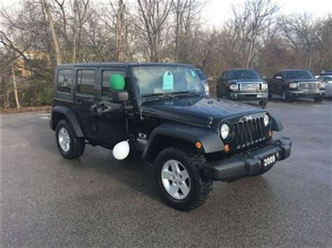 Soft Top Jeep Wrangler Unlimited 2009 Jeep Wrangler Unlimited X 4x4 Hardtop Soft Top