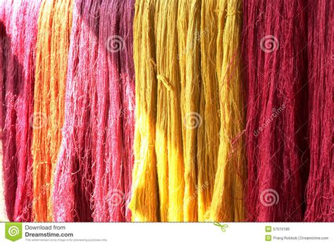 colorful thread wallpaper colorful of raw silk thread stock photo image 57510180