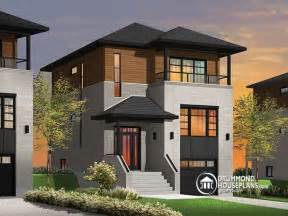 small modern house plans for narrow lots home decor populer