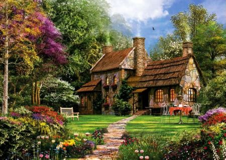 canvasstyle imaginary house hunt image gallery old cottage wallpaper