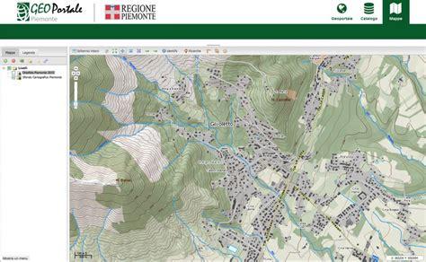 piemonte on line cartografia tecnica on line in italia e europa