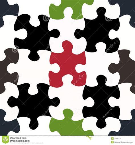 jigsaw pattern vector seamless green jigsaw pattern vector illustration