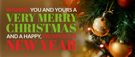 wishing      merry christmas   happy prosperous  year acn company news