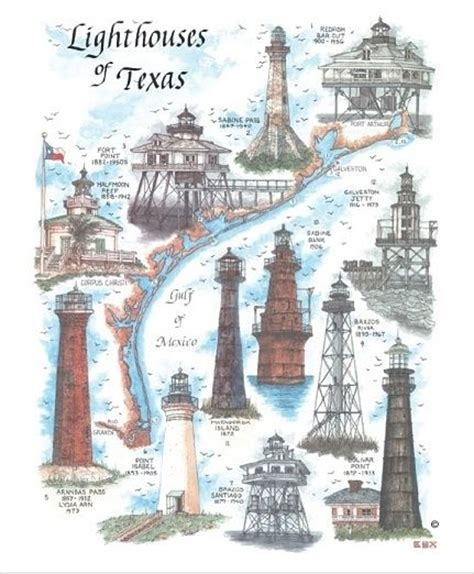 texas lighthouses map 229 best galveston images on galveston texas galveston island and houston