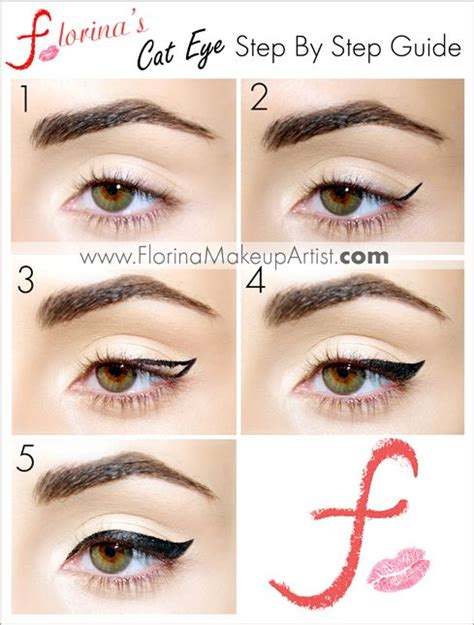 eyeliner tutorial with brush 17 best images about beauty tips by florina the makeup