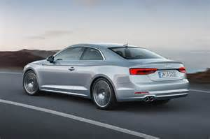 Audi Coupe A5 New Audi A5 And S5 Revealed More Space Tech And Power By
