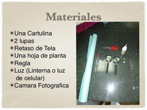material para hacer una maqueta de microscopio como hacer un microscopio corregido