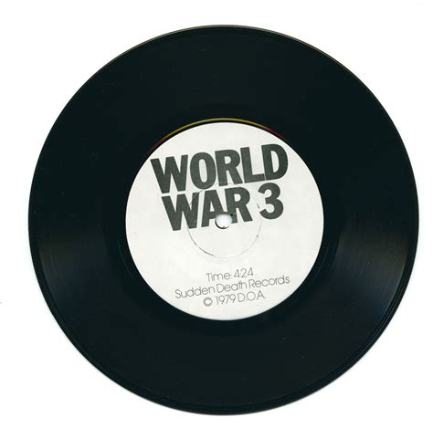 World War Records Doa World War Three Sudden Records Curious