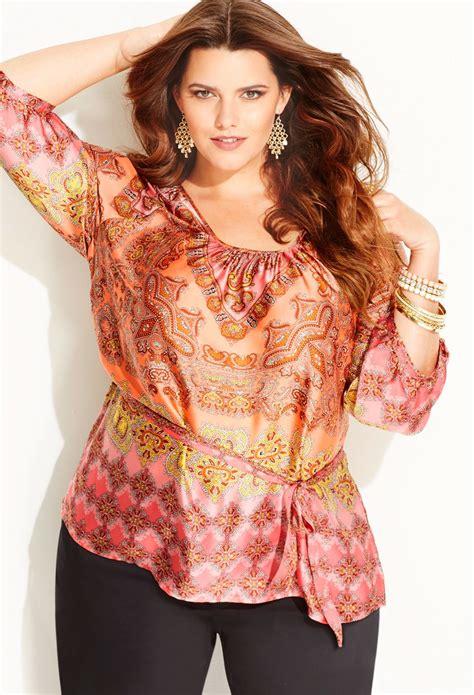 Antoinette Scarf plus size scarf print antoinette blouse plus size new