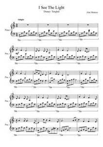 i see the light sheet 라푼젤 tangled ost i see the light 피아노 악보 네이버 블로그