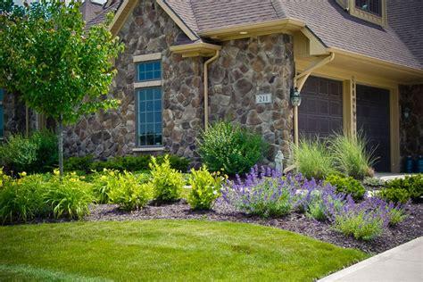landscape design front yard curb appeal front entrance landscaping design ideas hoot landscape