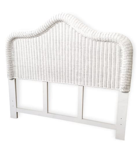wicker headboard elana
