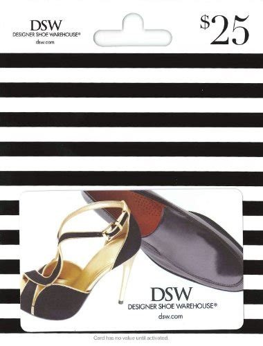 Gift Card Prices - dsw designer shoe warehouse dsw gift card 25 for sale findsimilar com