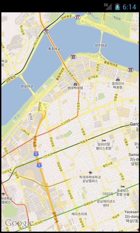 maps view android map view my