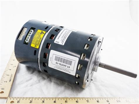 ecm blower motor rheem products 51 24376 10 1hp ecm blower motor w module