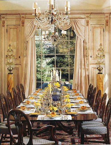 Formal Curtains Dining Rooms by Ways To Decorate Your Dinner Table For Maximum Advantage