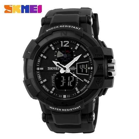 Skmei Jam Tangan Analog Digital Pria Wanita Ad0821 Anti Air skmei jam tangan digital analog pria ad1040 black