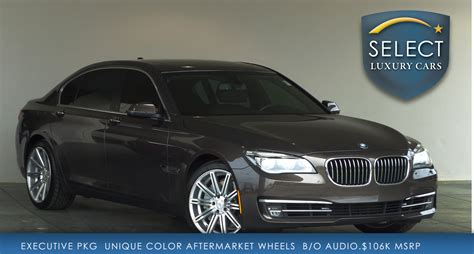2013 Bmw 750li by Used 2013 Bmw 7 Series 750li Marietta Ga