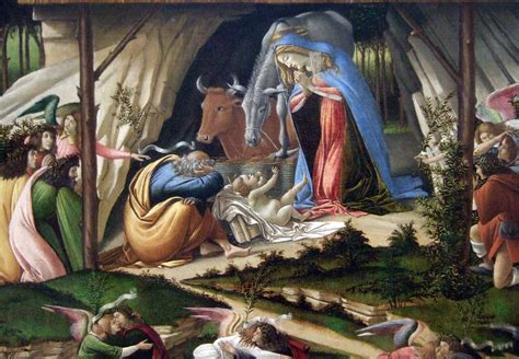 art encounetered botticellis mystic nativity