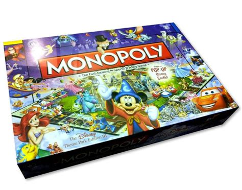 themes of monopoly board games ten disney board games for family time big kids adults