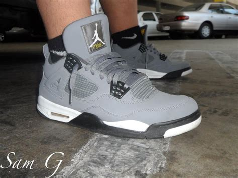 Air 4 Cool Grey On by Spotlight Forum Staff Weekly Wdywt 8 24 13 Sole Collector