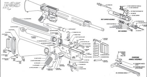 ar 15 parts diagram pdf ar 15 exploded view pdf pictures to pin on