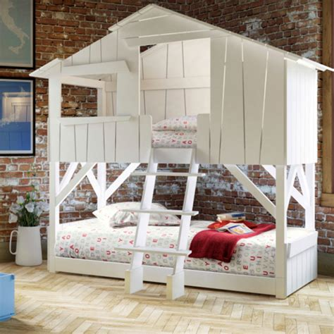 Unique And Unusual Childrens Beds From Cuckooland Create Bunk Beds That Look Like A House