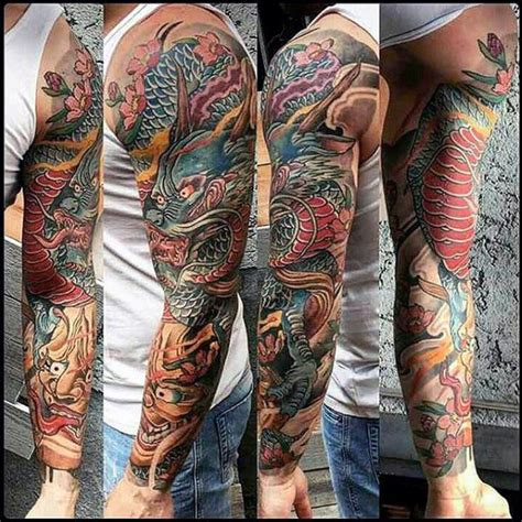 70 dragon arm tattoo designs for men fire 70 arm designs for breathing ink