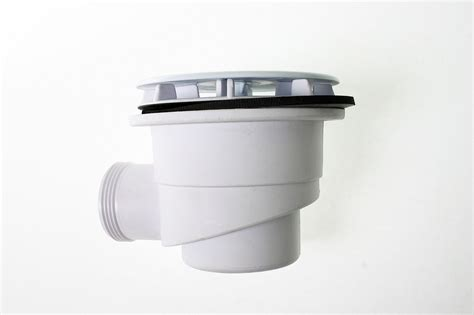 Shower P Trap by Mcalpine 90mm White Shower Trap St90wh10 Product Code 86160010