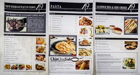 stew kuche menu 49 seats and their tom yum pasta chin chai jiak