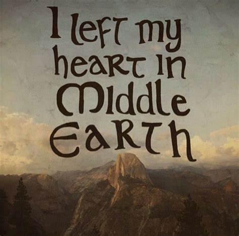 I Left My In by I Left My In Middle Earth Lotr