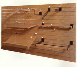 slat board shelving products slatwall commercial furniture shopfitting