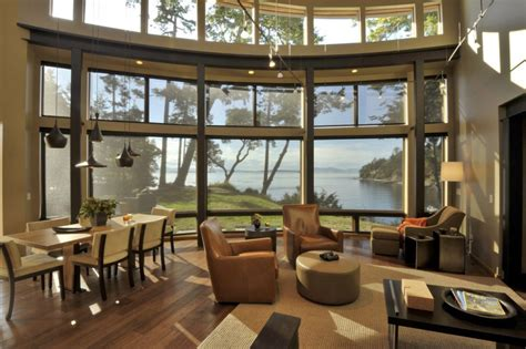 house plans with window walls fantastic bayfront house overlooking sunset bay modern