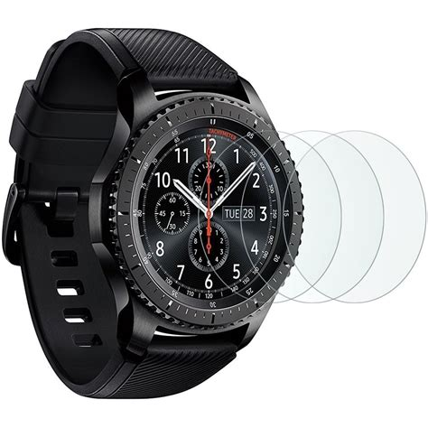 Tempered Glass For Samsung Gear S3 Sikai Premium Tg 1 samsung gear s3 tempered glass screen protector