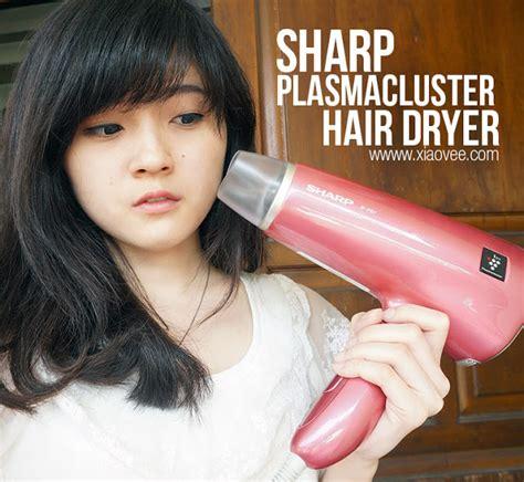 Hair Dryer Sharp Plasmacluster xiao vee sharp plasmacluster