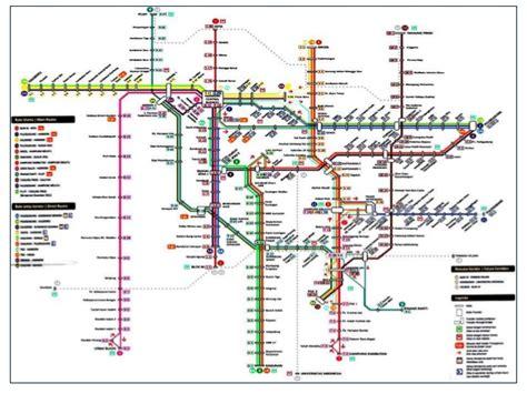 map  busway  jakarta    print