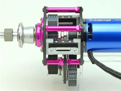 Akiba Hobby Bor 1 9mm 50プロダクト製 akibaユニット タイプf サイドマウント osモーター 11mmベルト仕様